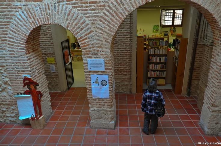 4ª Bibliocata: En la Biblioteca Municipal de Olmedo (Valladolid, España)