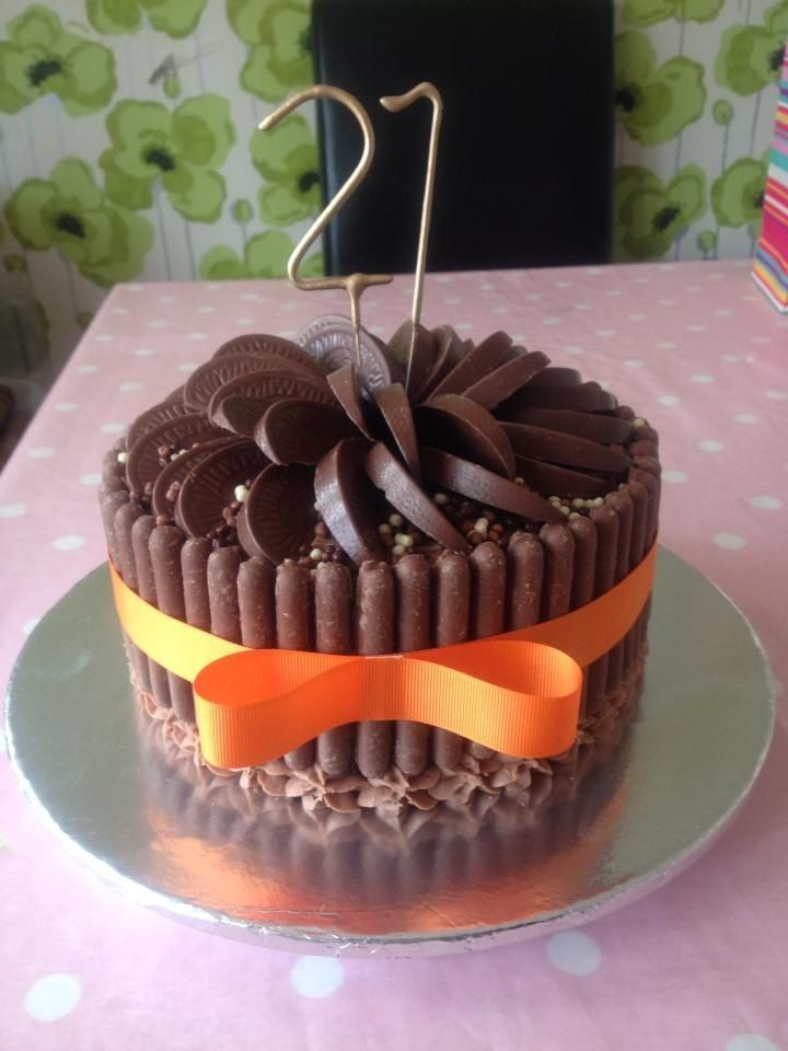 Fudgy Orange Chocolate Cake