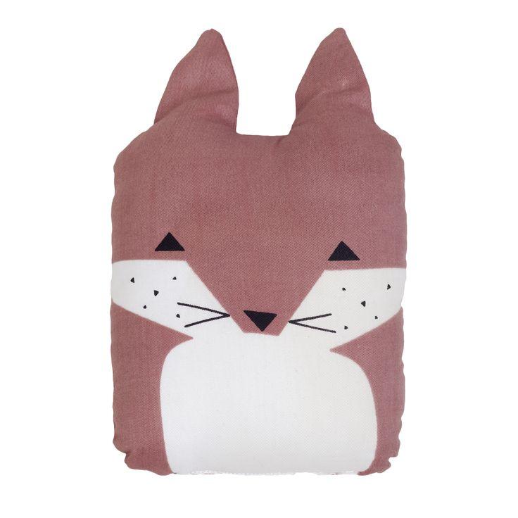 Fox pillow from Fabelab