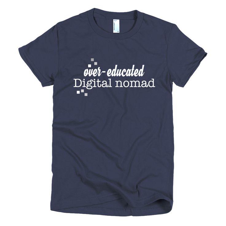 Digital Nomad women's t-shirt