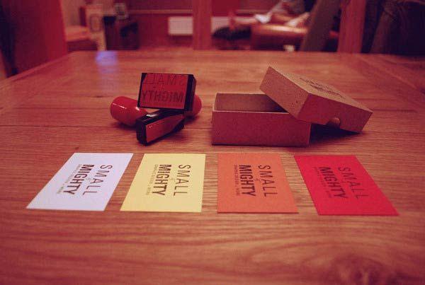 Desain Stempel Karet - Kartu Nama 8 Promosi Diri 2