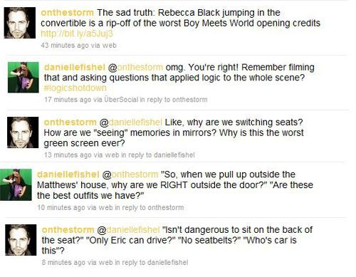 The Cast Of Boy Meets World Discuss Rebecca Black Ripping Off Their Intro