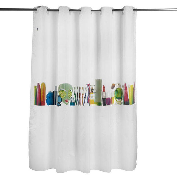top3 by design - Squid London - shower curtain miss squidolett