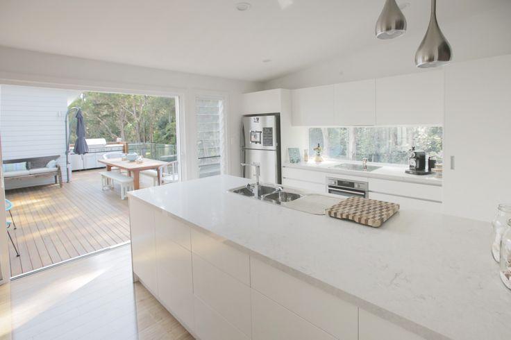 Living Green Designer Homes' kitchen, Avoca Beach NSW #LivingGreenDesignerHomes #interior #design #greenliving #sustainable #home #kitchen