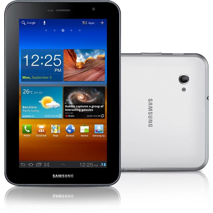 Tablet Samsung Galaxy TAB P6210 c/ Sistema Operacional Android 3.2, Tela 7.0'', Wi-Fi, Câmera, MP3 Player, Bluetooth, Cabo de Dados e Memória Interna 16GB