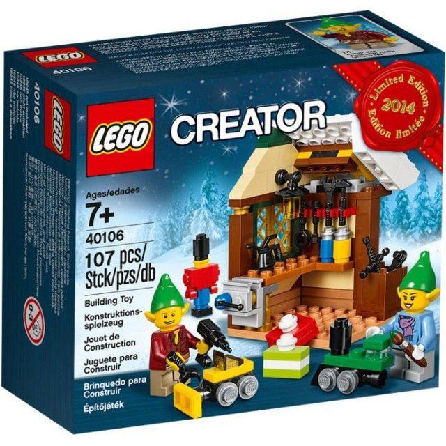 Đồ chơi LEGO 40106 Exclusive Toy Workshop – Xưởng đồ chơi (đặc biệt)