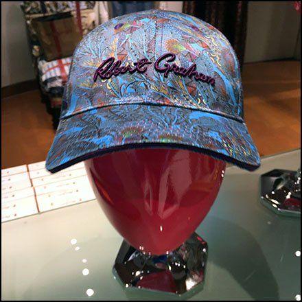 Robert Graham Baseball Cap Merchandising