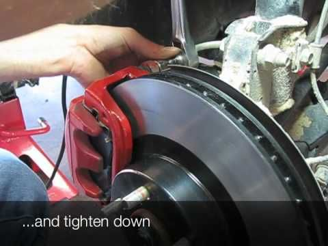 Subaru Forester Brakes - Rotor and Pad Change - YouTube