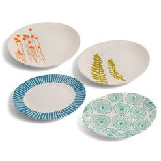 Jansdotter Plate Set Of 4, $48, now featured on Fab.