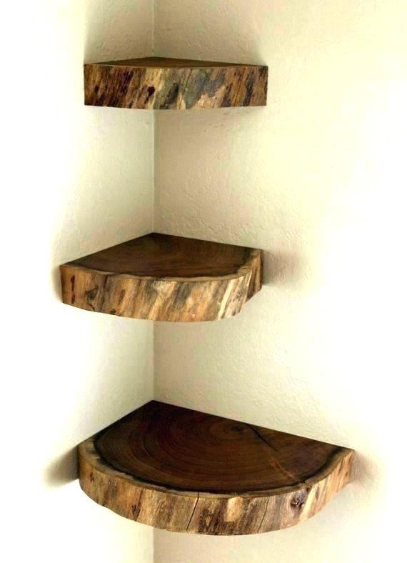 Image Result For Rustic Corner Shelf Wooden Corner Shelf