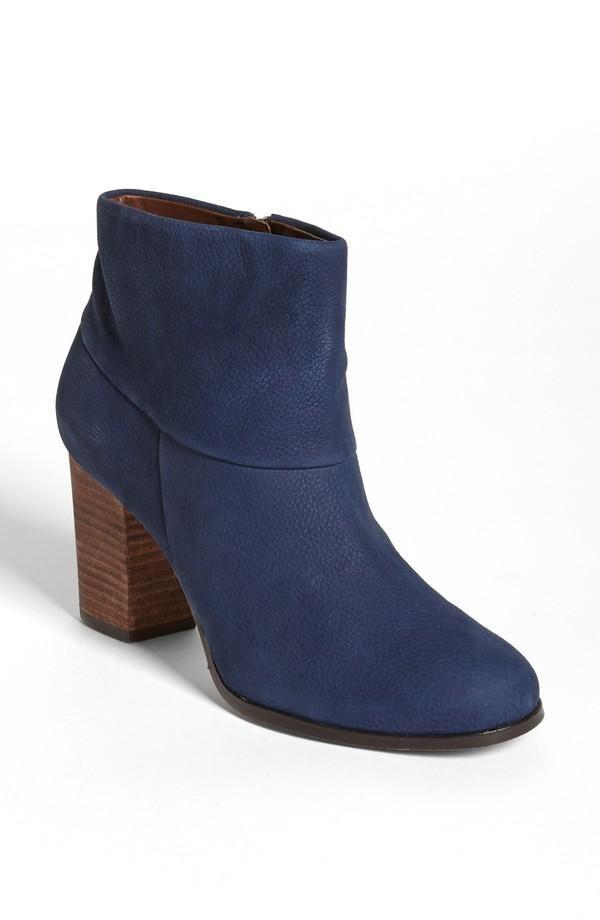 Feelin' blue. Cole Haan Bootie | Shoe Lust | Pinterest