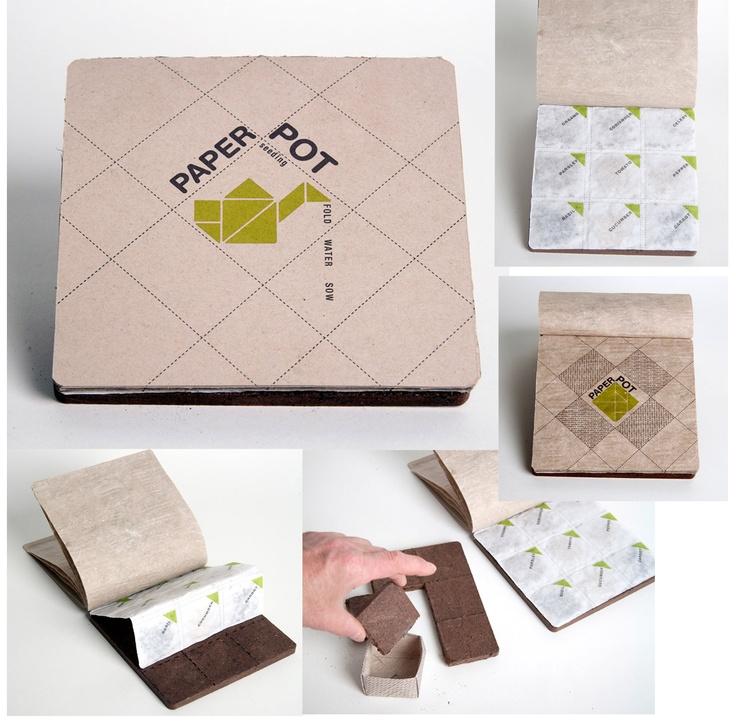 Paper Pot-