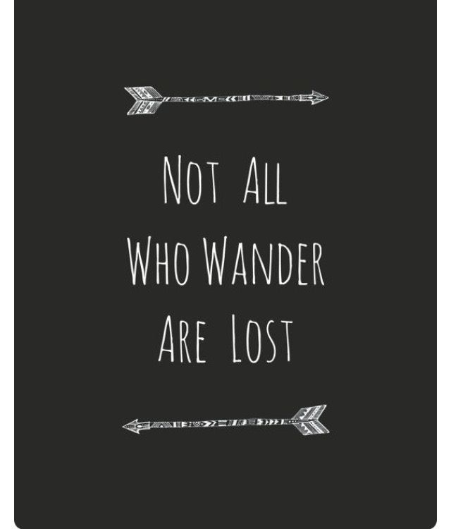 not all who wander are lost - 570×725