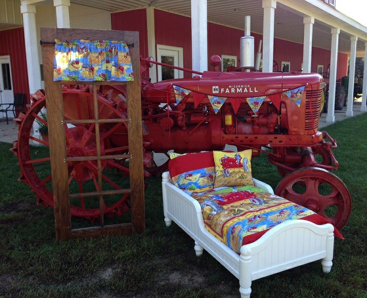 Farmall Tractor Bed Set : Best farmall international harvester images on