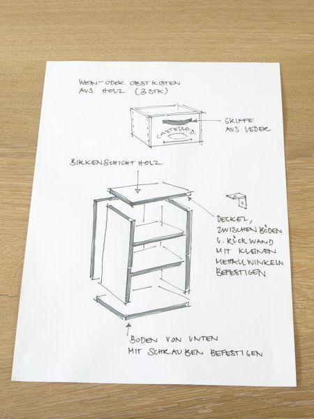 weinkisten m bel bauen neuesten design. Black Bedroom Furniture Sets. Home Design Ideas