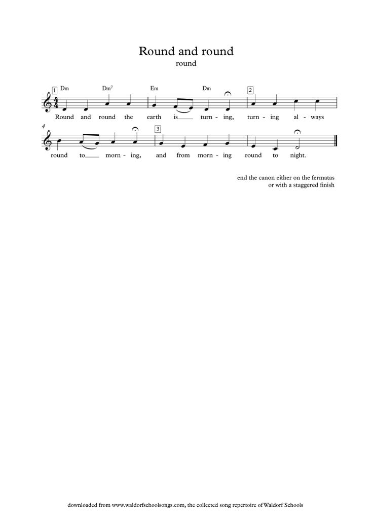 Pandur andandori | Waldorf School Songs