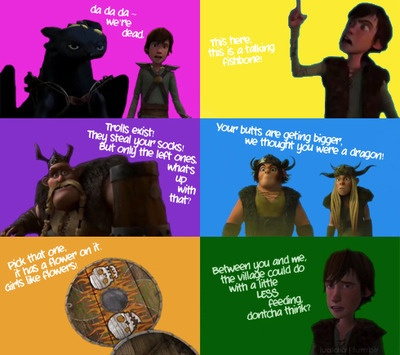 How to train your dragon quotes!