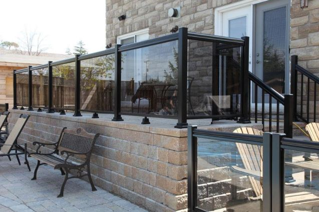 Outdoor Glass Railings
