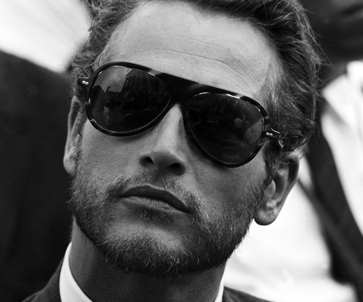 The March On Washington, 1963.  Paul Newman (with a reflection of the Supreme Court in his sunglasses.)