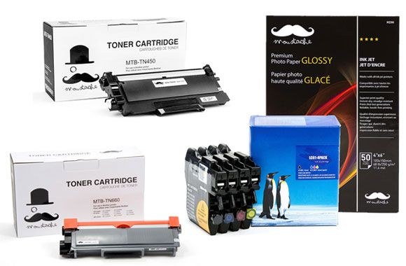 Profitez d'un rabais allant jusqu'à 84% sur votre choix de cartouche d'encre ou de poudre d'encre compatible avec les imprimantes Brother! Seulement sur tuango.ca