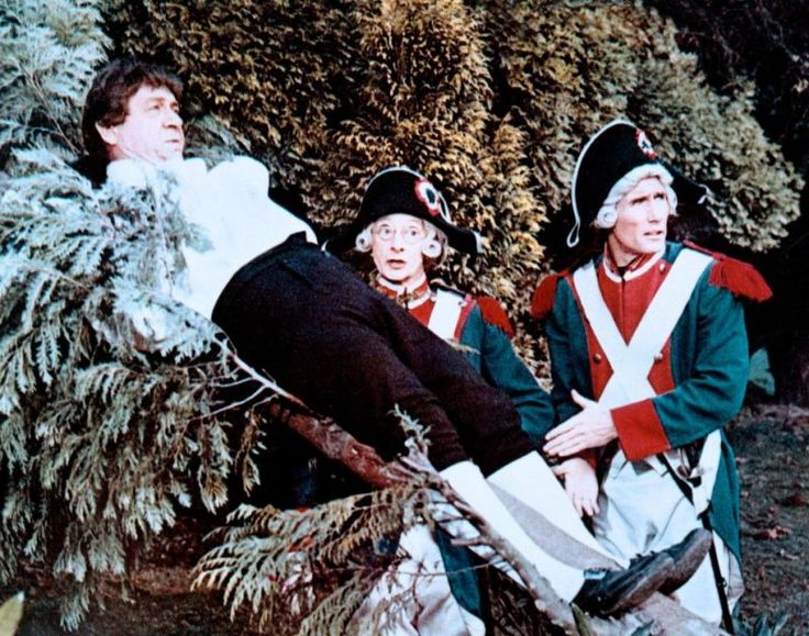 Sidney James, Charles Hawtrey and Jim Dale. Carry On Don't Lose Your Head.1966