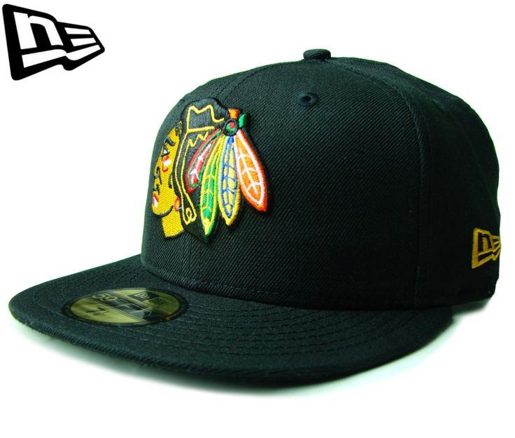 (ニューエラ) NEW ERA 59FIFTY CHICAGO BLACKHAWKS ブラック【BLACK】【白】【newera】【帽子】【アイスホッケー】【シカゴ・ブラックホークス】【NEロゴ】【NHL】【レア】【LOGO】【CAP】【キャップ】【黒】
