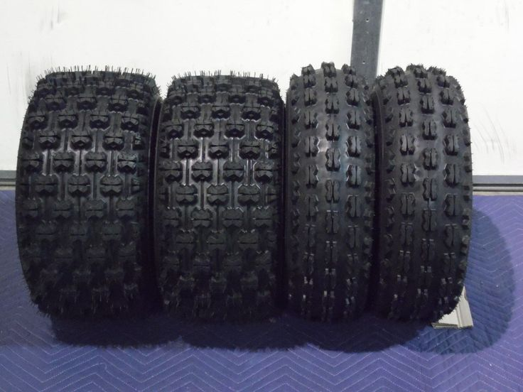 KAWASAKI KFX 450R QUADKING SPORT ATV TIRES 22X7-10, 20X10-9 ( 4 TIRE SET )