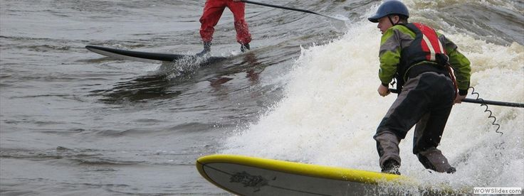 Paddlefit: initiation to surfing with a paddlefit board.