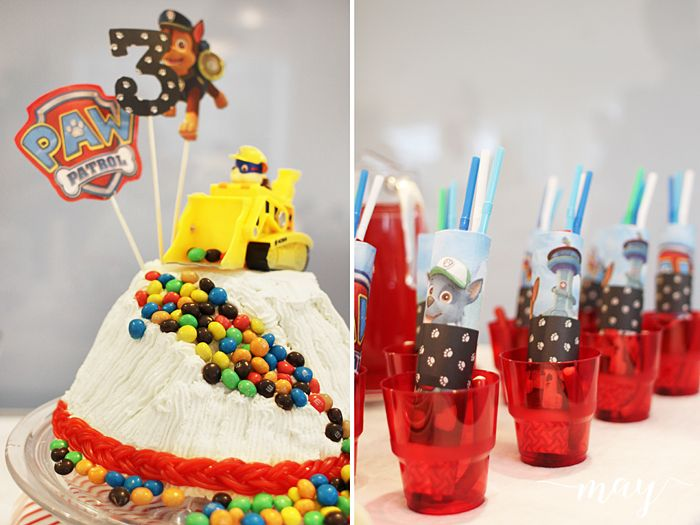 Paw patrol birthday party MAY: Paw Patrol - Ryhmä Hau synttärit
