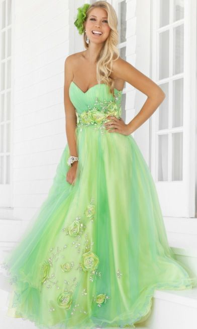The 22 best images about Green Prom Dresses on Pinterest | Green ...