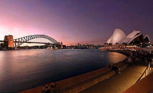 sydney - australia | Sidney- Skyline at the sunset | Maurizio Peddis | Flickr