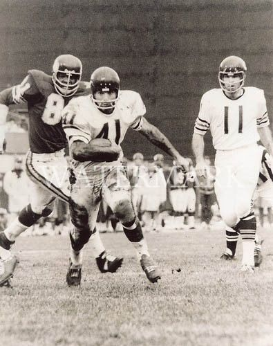 Brian-Piccolo-Running-Downfield-8x10-Photo-Chicago-Bears-NFL-Football-Vintage
