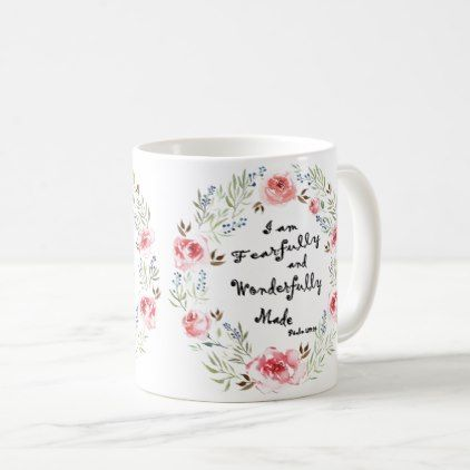 Fearfully & Wonderfully Made Mug  $14.95  by DazzlingDoodles  - custom gift idea