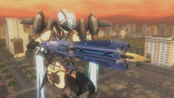 Earth Defense Force 5 Ranger and Wing Diver weapons gameplay