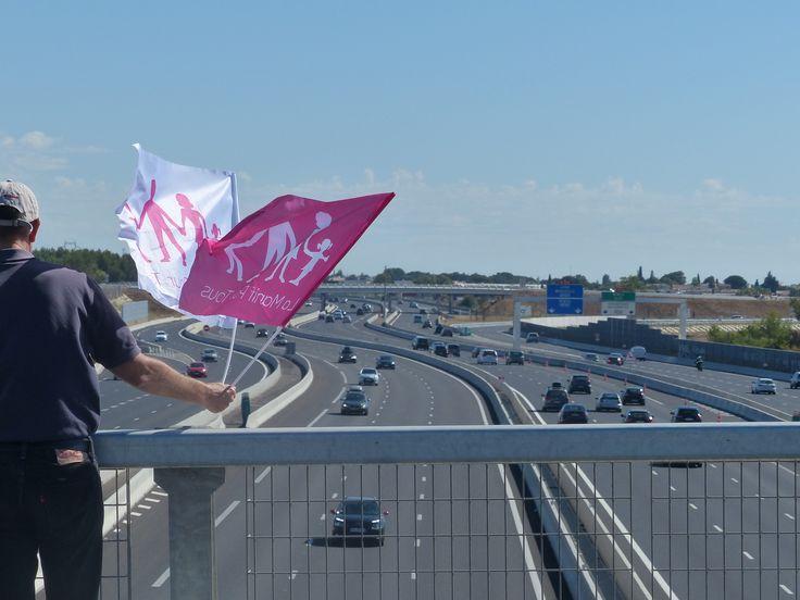 La Manif Pour Tous s'affiche sur les autoroutes et prépare sa rentrée