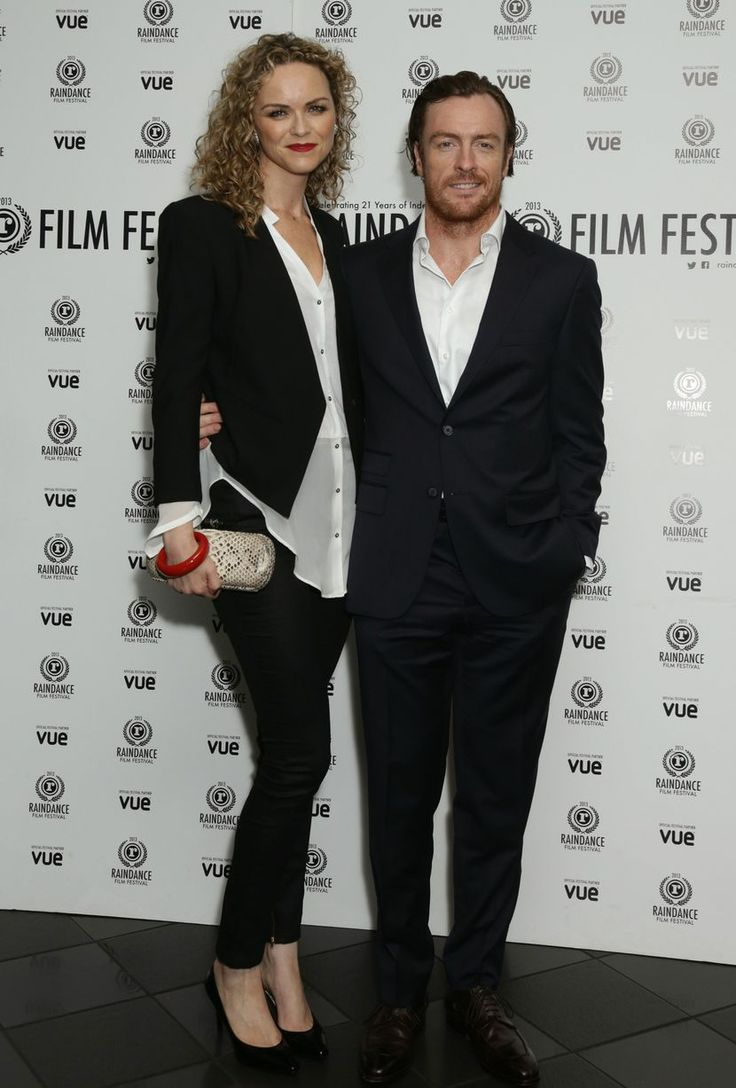 Toby Stephens And Wife