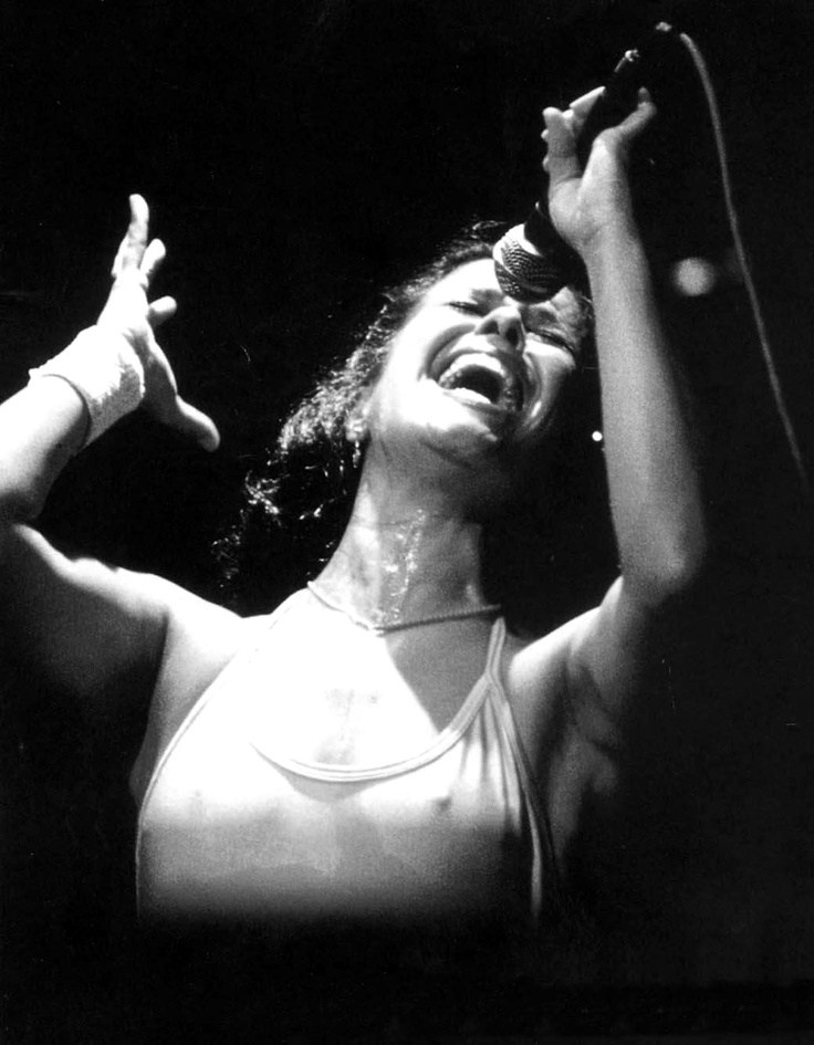 Elis Regina, one of the most ferociously talented singers from Brazil, began singing professionally at age 12, signed her first recording contract at 13. Sensitive and meticulous, she was the country's most popular and highest-paid singer at 21. After her premature death at 36, more than 100,000 people followed her funeral procession through the streets of São Paulo http://en.wikipedia.org/wiki/Elis_Regina