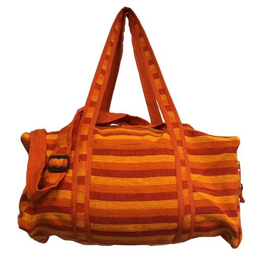 Wholesale Nepal Travel Bag   Hip Angels Made of  high quality cotton material and featured in four different fashionable colours.   These bags have two external pockets with zipper, and another pocket without zipper for quicker search such as maps, and also has adjustable handle making it easily to resize the handle for better comfort. #Wholesale_Travel_Bags #Travel_Bags #Trecking_Bags #Adventures_Bags