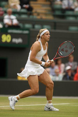 Wimbledon 2013, Women's Quarterfinals - Yonex Tennis, Sabine Lisicki