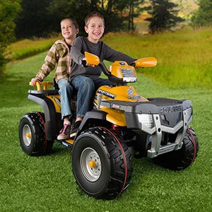 Electric ATV for Kids. Choose battery-powered 4-wheeler. | Kid, Atv and Peg perego