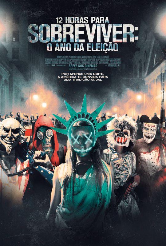 12 Horas Para Sobreviver: O Ano da Eleição chega aos cinemas em 6 de outubro!