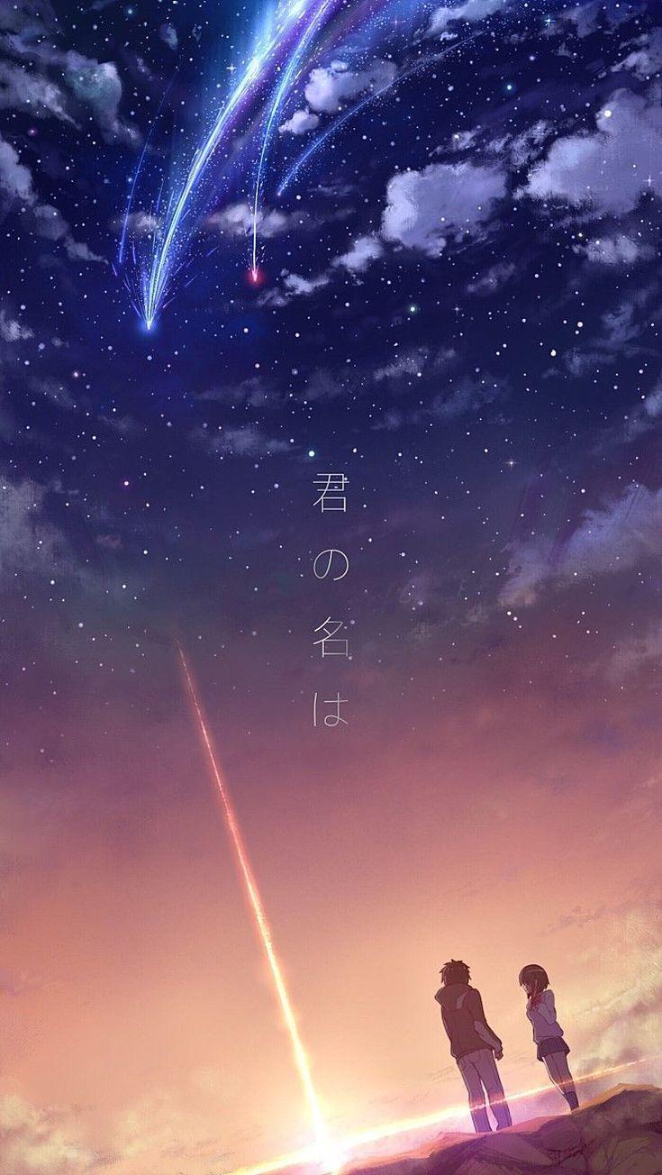 Live Wallpaper Iphone Anime In 2020 Kimi No Na Wa Wallpaper Kimi No Na Wa Anime Scenery