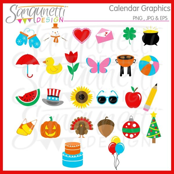 17 Best images about Sanqunetti Celebration & Birthday Clipart on ...