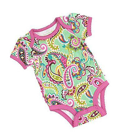 Vera Bradley Baby Newborn RuffleBack Bodysuit #Dillards