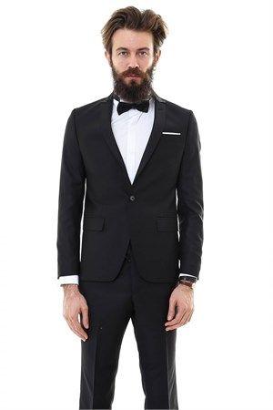 WSS Wessi Üst Yaka  Pileli Damatlık Takım Elbise