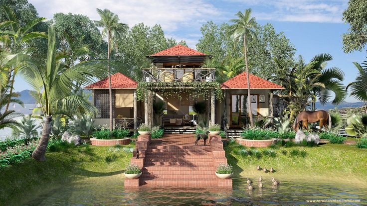 The vacation house  was located at the under-developed residential area of Ashulia, Dhaka, Bangladesh. The site was surrounded by open green area & on the southern side of the site there was an elongated pond .