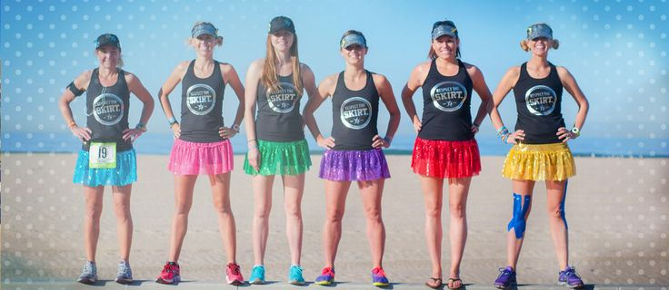 Sparkle Athletic: Women's Running Skirts, Run Costumes & Outfits