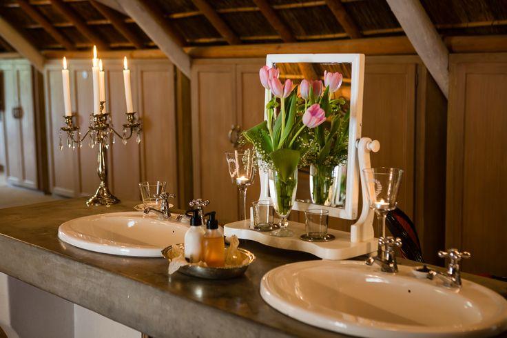 Room 5 double basins in open plan bathroom area