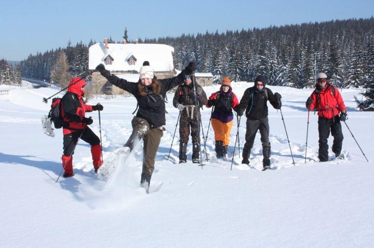 Sneeuw outdoor Reuzengebergte Polen