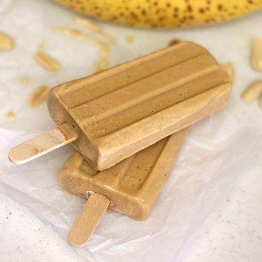 Butter Banana Popsicles | Recipe | Peanut Butter Banana, Ice Pops ...